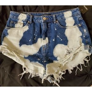Forever21 Jean Shorts (extreme bleach wash)